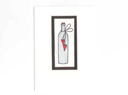 kort flaska