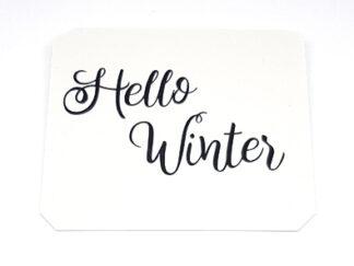 "Isskrapa ""Hello Winter"""