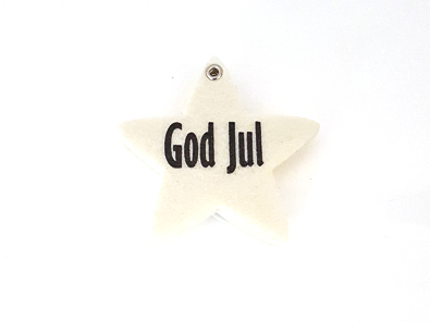 """Filtstjärna """"God Jul"""""""