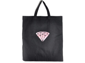 Tygpåse diamanttryck