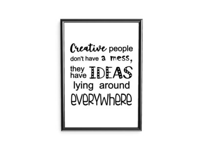 Poster Creative people
