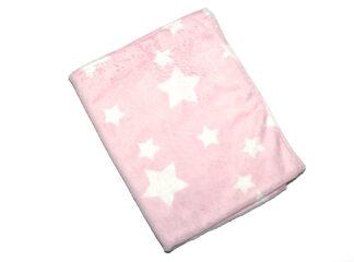 Snuttefilt rosa minky flanell